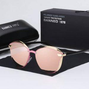 BANNED 1976 LUX női napszemüveg – UV400 védelem – Többféle szín – Ajándék doboz,és kendő