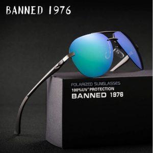 BANNED 1976 Nitrox unisex napszemüveg – UV400 védelem – Többféle szín – Ajándék doboz és kendő