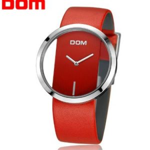 DOM Red Női Karóra – Ajándék díszdoboz – Bevezető ár – 1 év gyártói garancia