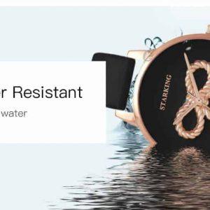 Starking 3D masni-design karóra – bőr szíj – egyedi külső – ajándék díszdoboz