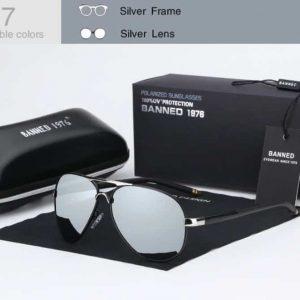 BANNED 1976 FERRARA unisex napszemüveg – 5 színben – UV400 védelem – Többféle szín – Ajándék doboz és kendő