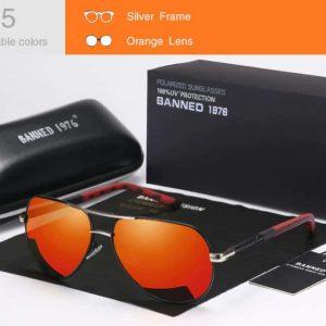 BANNED 1976 COBRA unisex napszemüveg – UV400 védelem – Többféle szín – Ajándék doboz és kendő