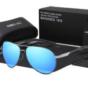 BANNED 1976 Bange férfi napszemüveg – UV400 védelem – Többféle szín – Ajándék doboz és kendő