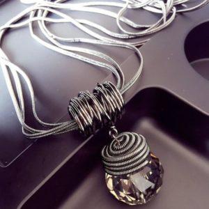 CrystalWorld medál nyaklánccal – többféle változat