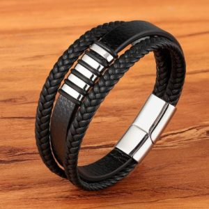 StreetDesign Wristar bőr karkötő – 3-féle kivitel