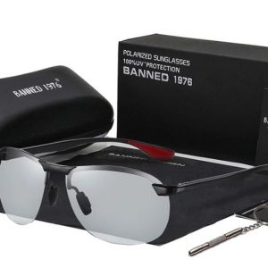 BANNED 1976 VENTURI férfi napszemüveg – UV400 védelem – Többféle szín – Ajándék doboz és kendő