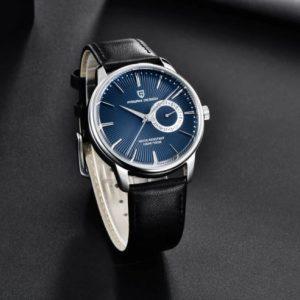PAGANI Design Vesuvio Férfi Luxury Karóra – SilverBlue edition  – ajándék díszdoboz