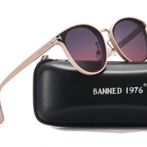 BANNED 1976 Crystal női napszemüveg – UV400 védelem – Többféle szín – Ajándék doboz és kendő